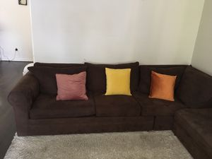 Sectional sofa including matching ottoman for Sale for sale  Bronx, NY