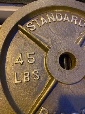 Weights, bench plate for Sale in Boynton Beach, FL