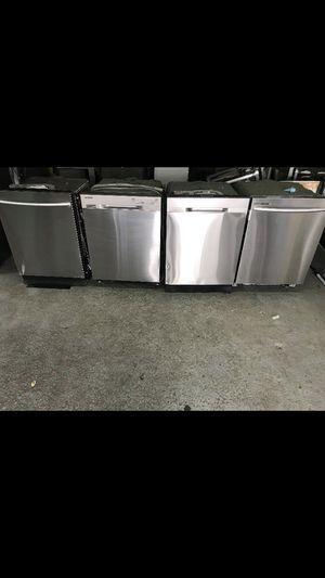 SAMSUNG STAINLESS STEEL DISHWASHER FOR CHEAP PRICE ALL WORKING CONDITION for Sale in Lancaster, PA