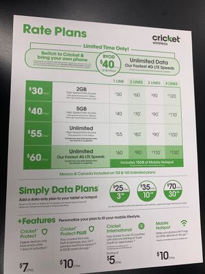Switch to Cricket today!!! for Sale in Victoria, TX