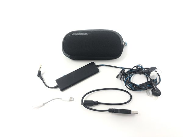 Bose QC20 In Ear Wired Headphones.