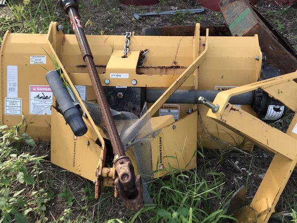 Tractor roller tiller