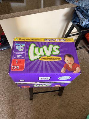 Luvs size 1 Diapers for Sale in West Jordan, UT