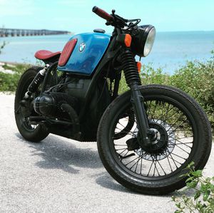 Motorcycle 1976 Bmw r90/6 custom bobber for Sale in Miami, FL