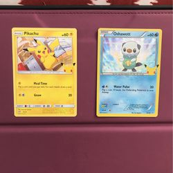 Meal Time Pikachu/ Shiny Oshowott for Sale in Kissimmee,  FL