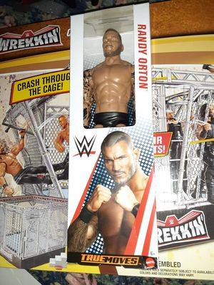 "New Mattel RANDY ORTON - WWE 12"" Wrestling Toy Action Figure True Moves Series for Sale in Miami, FL"