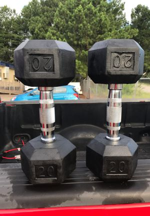 20lb dumbbell set for Sale in Greenville, SC