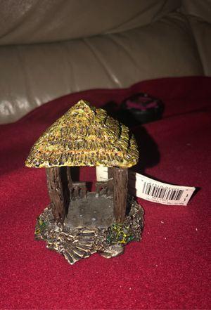"Miniature Ceramic 3"" x 2.75"" Fairy Gazebo for Figurines, Dolls, Dollhouse, Fairies, Fairy Garden, Easter, Summer for Sale in Plainfield, IL"