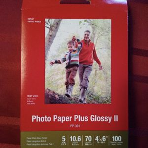 Canon Photo Paper - FIVE PACKAGES of - Plus Glossy II for Sale in Belleville, NJ