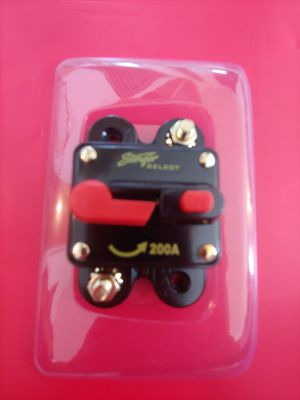 Car audio installation parts :200 a circuit breaker brand new for Sale in Bell Gardens, CA
