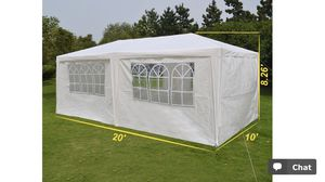 10' x 20' Wedding or Party Tent for Sale in Fairfax, VA