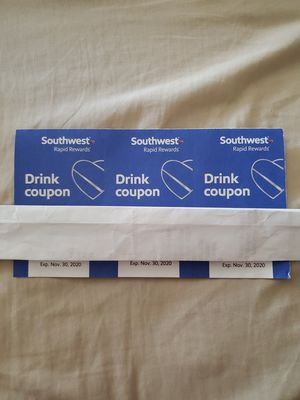 Southwest drink tickets for Sale in Oakland, CA