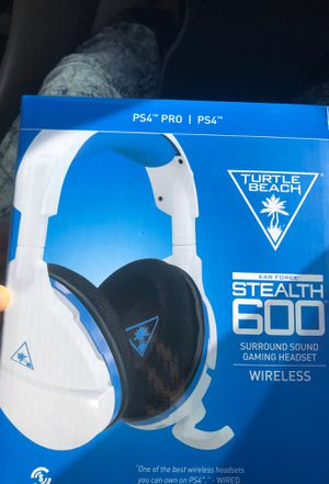 Turtle beach PS4 headset for Sale in Los Angeles, CA