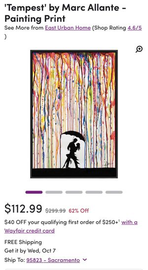 Marc Allante Painting Print for Sale in Citrus Heights, CA