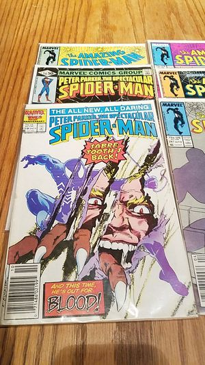 9 Marvel Spiderman Comics for Sale in Lakeside, AZ