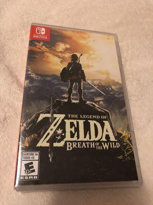 Brand new Nintendo Switch Zelda Breath of The Wild for Sale in San Jose, CA