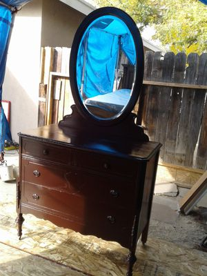 Cherry Antique Dresser for Sale in Fresno, CA