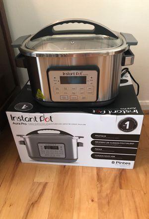 Instant Pot Aura Pro 8 qt for Sale in Humble, TX