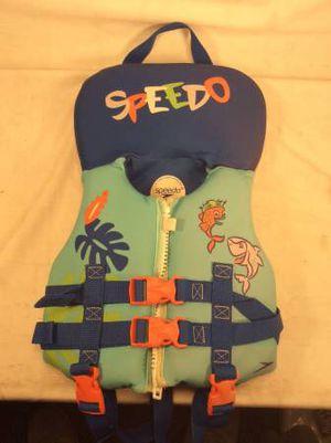 Speedo Infant U.S. Coastguard approved Boating Vest for Sale in Tampa, FL