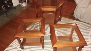 Solid Wood 3 Piece Set for Sale in West Palm Beach, FL