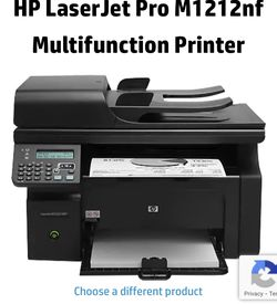 HP LaserJet Pro M1212nf Multifunction Printer for Sale in Federal Way,  WA