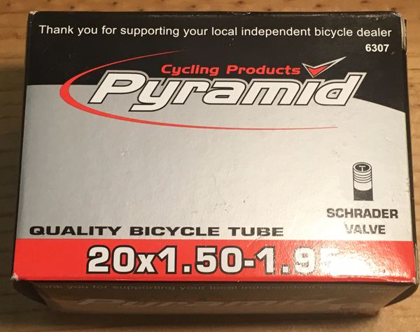 Cycling Products Pyramid 20*1.50-1.95 Tube