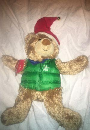 Hallmark North Pole Christmas bear for Sale in Kitty Hawk, NC