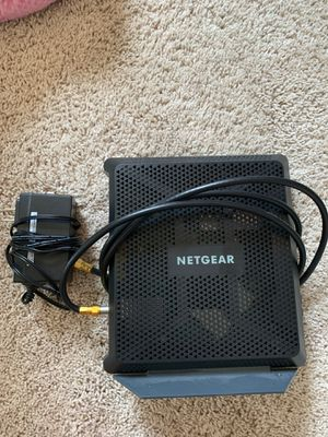 Netgear cable modem and router for Sale in Clackamas, OR