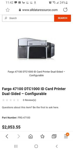 Id card printer for Sale in Quincy,  MA