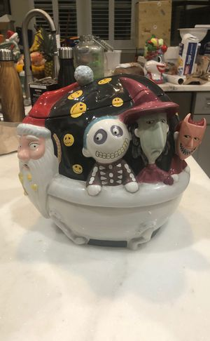 Rare nightmare before christmas cookie jar for Sale in Fresno, CA