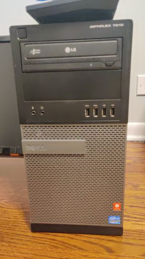 Desktop Computer Intel Quad Core i7-3770, 8gb ram, 240gb ssd, 1tb hdd for Sale in Arlington Heights, IL
