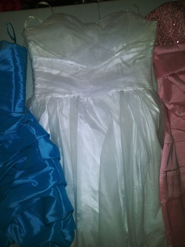 White tulle party 🎉 dress