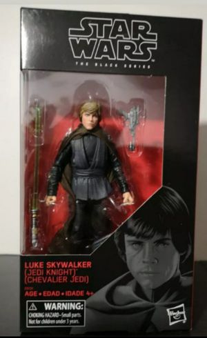Star Wars Black Series Luke Skywalker Jedi Knight Collectible Action Figure Toy for Sale in Chicago, IL