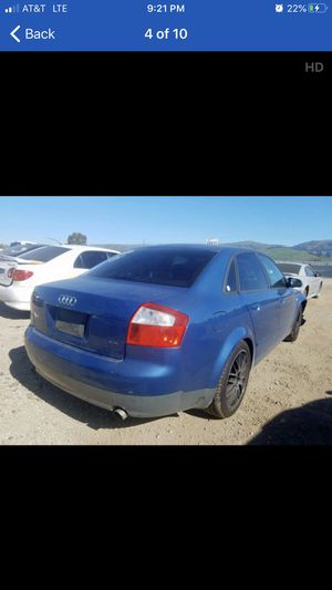 2004 audi A4. Manual 6speed. Parts only 235-40-R18 for Sale in Modesto, CA