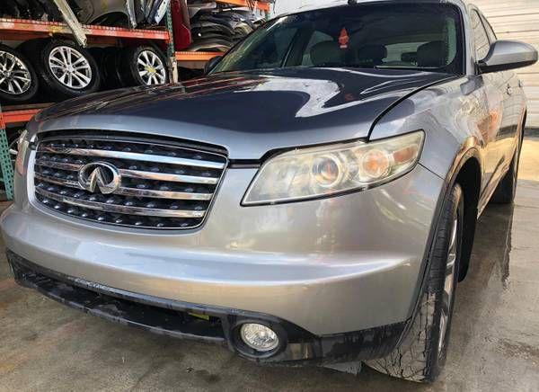 2003-2008 INFINITI FX35 FX45 FRONT LEFT DRIVER SIDE HEADLIGHT OEM