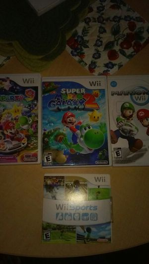 Nintendo Wii Games for Sale in Union City, CA