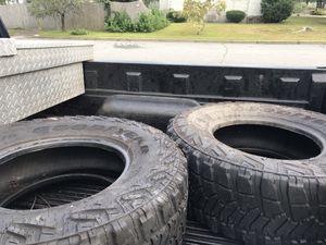 2 truck/mud tires 305/70/17 for Sale in Warwick, RI