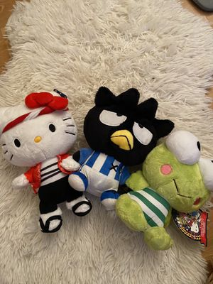 Hello kitty plushies for Sale in Oceanside, CA