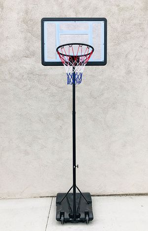 "New $65 Junior Kids Sports Basketball Hoop 31x23"" Backboard, Adjustable Rim Height 5' to 7' for Sale in South El Monte, CA"