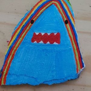 Painted Shark Rocks for Sale in Harrisburg, PA