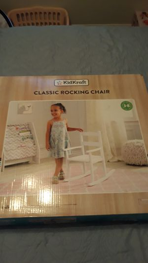 Brand new in the box kids rocking chair for Sale in Katy, TX