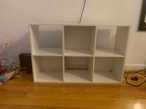 White Bookcase / TV Stand for Sale in Hoboken, NJ