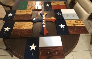 Flag key holders with M-4 bullet shells for Sale in Laredo, TX