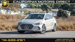 2017 Hyundai Elantra for Sale in Santa Ana, CA