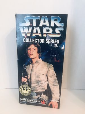 New in original box Collector series, vintage Star Wars Luke Skywalker 12 inch action figure toy for Sale in Murfreesboro, TN