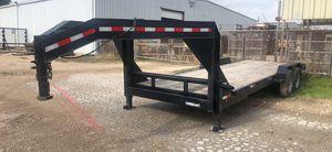 83x24 gooseneck trailer for Sale in Lancaster, TX