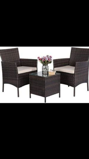 Silas de patio chairs for Sale in March Air Reserve Base, CA