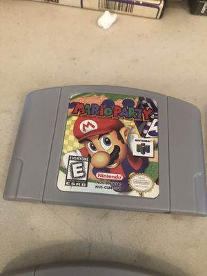 New Video Game Cartridge Console Card For Nintendo N64 Mario Party 64 US Version for Sale in Struthers, OH