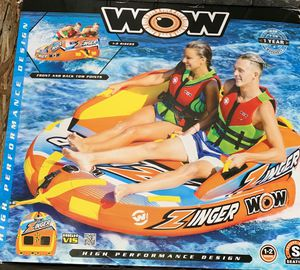Inflatable, tow behind boat toy for Sale in Stanwood, WA