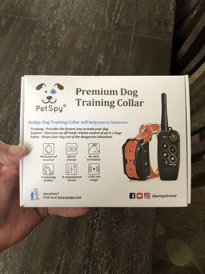 Petspy dog training collar for Sale in East Wenatchee, WA